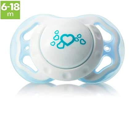 Bebé Chupete de silicona chupete - sin BPA - edad: 6 A 18 ...
