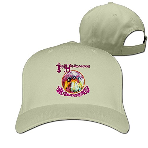 Jimi Hendrix Cap (The Jimi Hendrix Are You Experienced Fitted Hats Cool Baseball Cap)