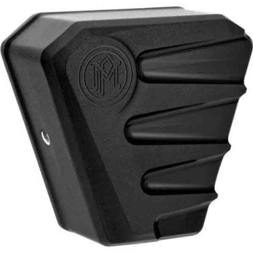 Performance Machine Scallop Black Ops Horn Cover 0218-2001SCA-SMB