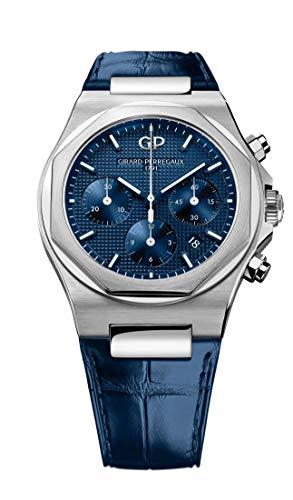 Girard-Perregaux-Laureato-Chronograph-42mm-Mens-Watch-Blue
