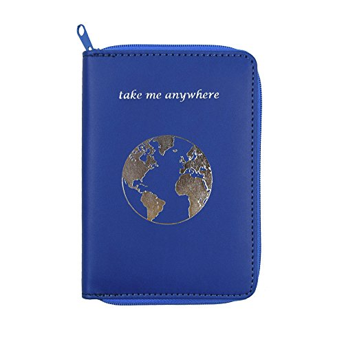 85e2765cb14d Passport Holder with Zipper - 10 Different Colors & Travel Quotes ...
