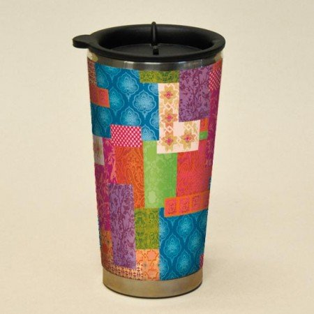 Potpourri Mug - Lang Artisan Potpourri Traveler Mug, Multicolor
