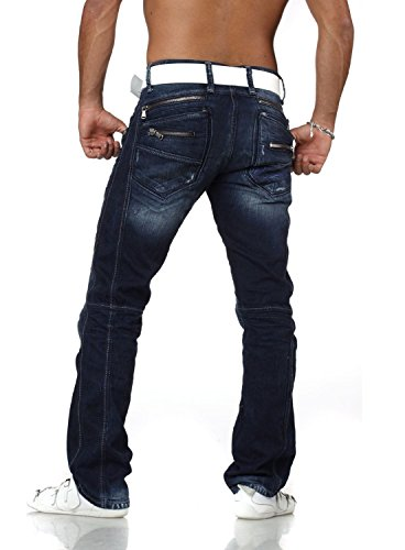 """Cipo & Baxx Herren Jeans """"c768"""" dunkelblau (W34 / L34)"""