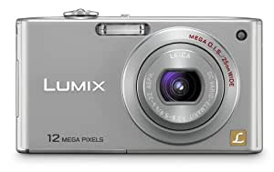 Panasonic Lumix DMC-FX48 12MP Digital Camera with 5x MEGA Optical Image Stabilized Zoom and 2.5 inch LCD (Silver)