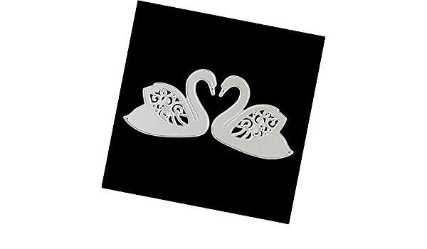 Ting-Times Llantas de Corte DIY, Plantillas de Metal para Manualidades, álbum de Recortes, Tarjetas, Dibujos Animales, Manualidades, Herramientas de Corte: ...