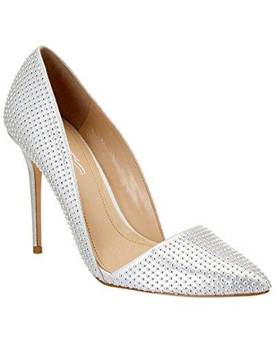 platinum silver shoes - 9