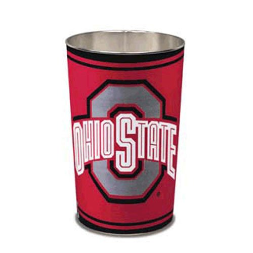 State Ohio Wastebasket - Ohio State University Buckeyes Wastebasket - Tapered