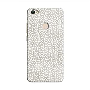 Cover It Up - Silver Pebbles Mosaic Redmi Y1 Hard Case
