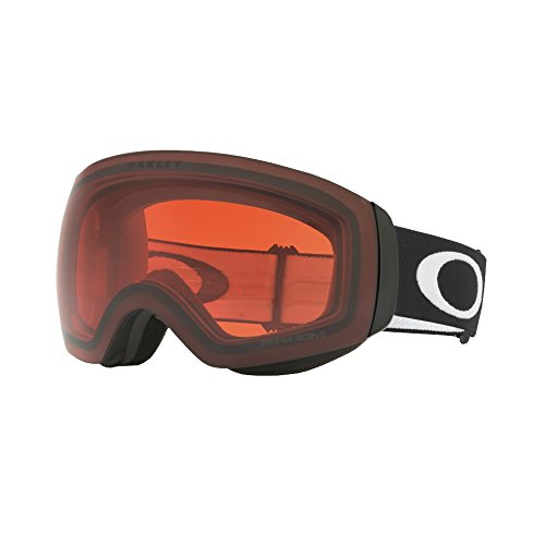 Oakley Flight Deck XM Snow Goggles, Matte Black, Prizm Rose, - Sunglasses Stores Oakley