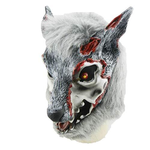 Animal Mask Halloween Decoration DIY Halloween Christmas Carnival Mask Masquerade Party Supplies 5]()