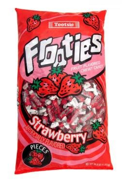 Tootsie Frooties Strawberry 38 8 count product image
