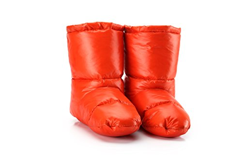 ISEYMI - Zapatillas de estar por casa para mujer naranja