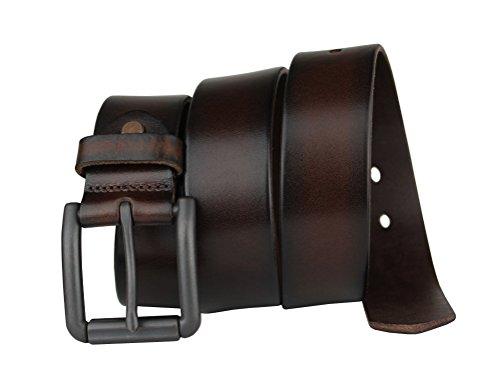 Bullko Men s Genuine Leather Belt Casual Jean Belts for Men at Amazon Men s  Clothing store  7ca9e630da
