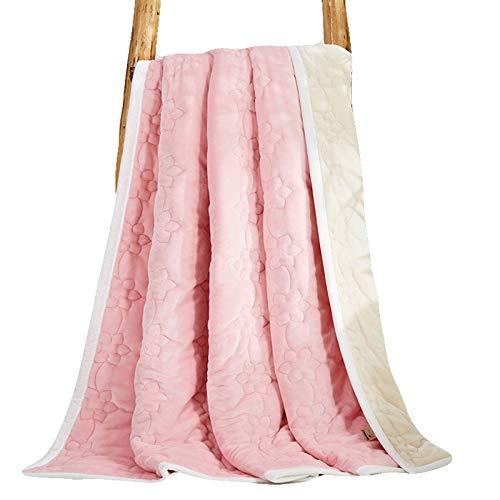 フランネル毛布, 毛布, スーパーソフト 快適さ ベルベット フリース 毛布 低 通気性 リバーシブルひざ掛け 掛布-A 200x230cm(79x91inch) B07JVGQ2T6 A 200x230cm(79x91inch)