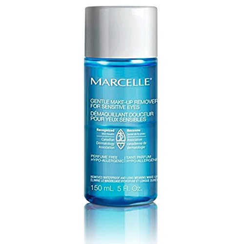 Marcelle Gentle Eye Makeup Remover for Sensitive Eyes, Hypoallergenic and Fragrance-Free, 5 fl oz