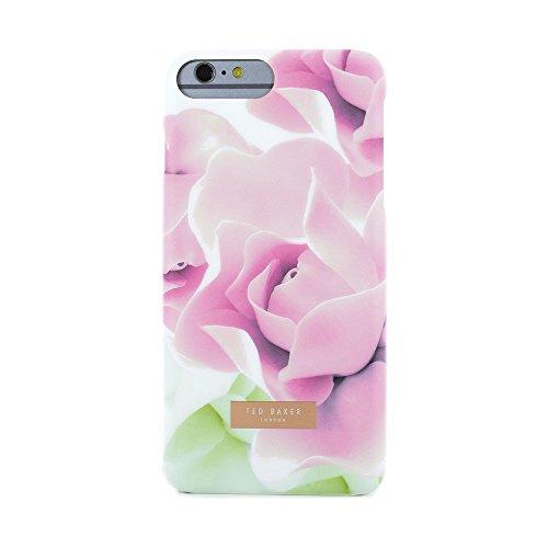 Ted Baker Coque arrière pour iPhone 7Plus moelleux Aw16–Porcelaine Rose Noir