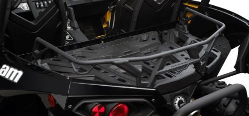 Can-Am 715001665 Black 4'' (10 cm) ATV LinQ Front and Rear Rack Extension
