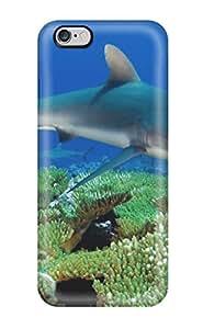 NicholasAMiller Iphone 6 Plus Hybrid Tpu Case Cover Silicon Bumper Shark
