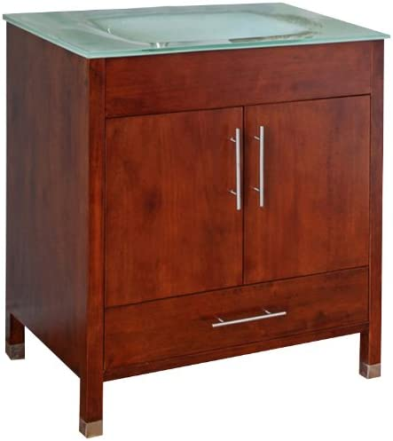 Bellaterra Home 203110-W 32.3-Inch Single Sink Vanity