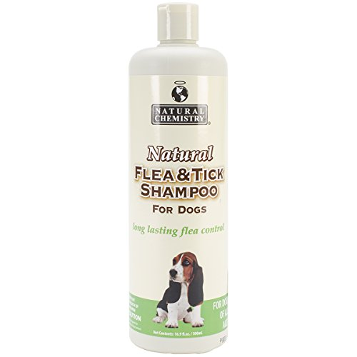 Natural Chemistry Flea & Tick Shamp 16oz by Natural Chemistry
