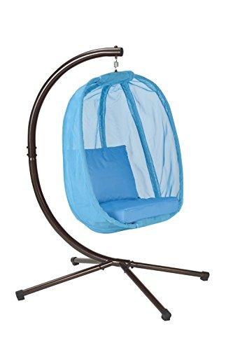 Flower House FHEC100-LB Egg Chair, Light Blue Review