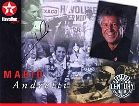 Mario Andretti Autographed Picture - Racing 8x10 - Autographed NASCAR Photos by Sports Memorabilia
