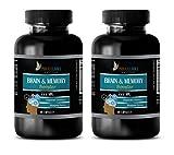 Immune Support multivitamin - Brain Memory Booster 777MG - Sharpen Focus - Brain Booster nootropic - 2 Bottles (120 Capsules)