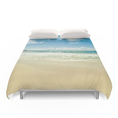 Society6 Kapalua Beach Honokahua Maui Hawaii Duvet Covers King: 104'' x 88'' by Society6