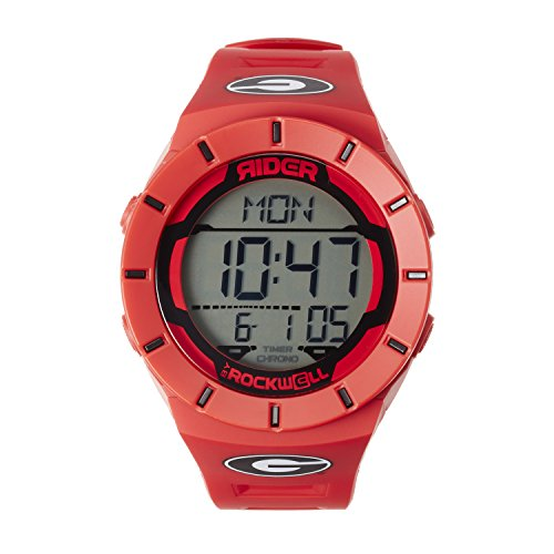 Rockwell NCAA Georgia Bulldogs Men's Coliseum Watch, Adjustable, Red ()