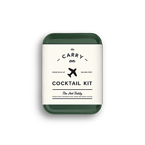W&P MAS-CARRYKIT-HT Carry on Cocktail Kit, Hot Toddy, Travel Kit for Drinks on the Go, Craft Cocktails, TSA Approved
