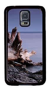 Beach roots Custom Samsung Galaxy S5/Samsung S5 Case Cover Polycarbonate Black