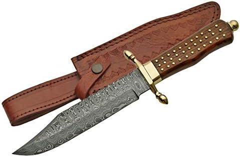 Damascus Szco Supplies Bowie Knife