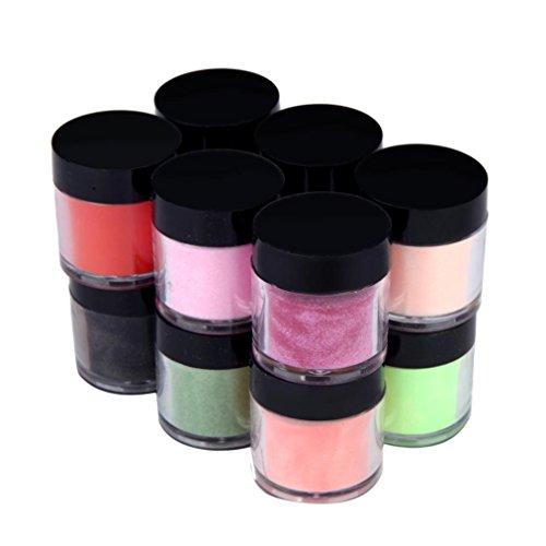nail acrylic color powder - 7