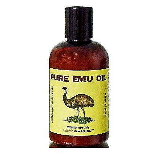 Emu Oil Pure Premium Golden Powerful Skin and Hair Moisturizer - 4 fl.oz.