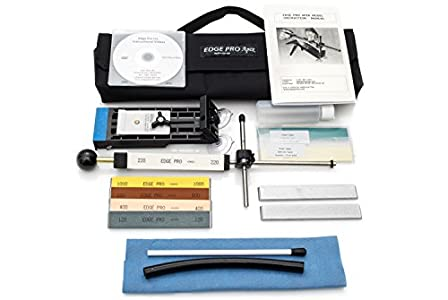 Edge Pro Apex 4 Knife Sharpening System : Better if you are ambidextrous.