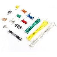 Neuftech 140pcs forme de U Breadboard Jumper Cable Kit Fil avec boîte pour Arduino Shield