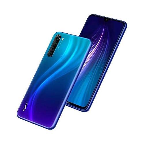 chollos oferta descuentos barato Xiaomi Redmi Note 8 Smartphone de 6 3 FHD Snapdragon 665 Octa Core 4 GB RAM 64 GB ROM cámara trasera cuádruple de 48 MP batería de 4000 mAh Neptune Blue