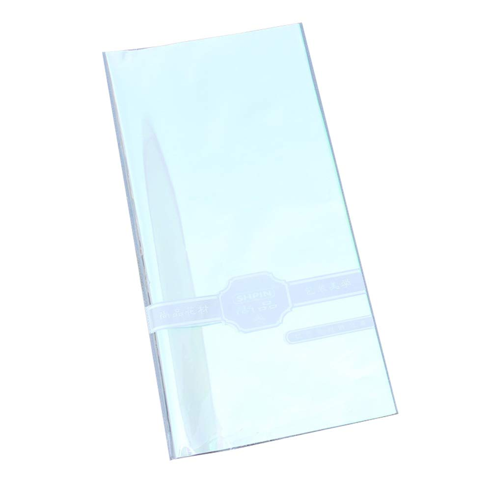 Amazon Com Healifty 20pcs Cellophane Wrap Iridescent Film
