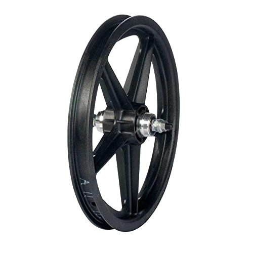 Skyway Tuff II 5 Spoke Mag 3/8 Nutted 16 x 1.75 Freewheel Black Wheel Rear