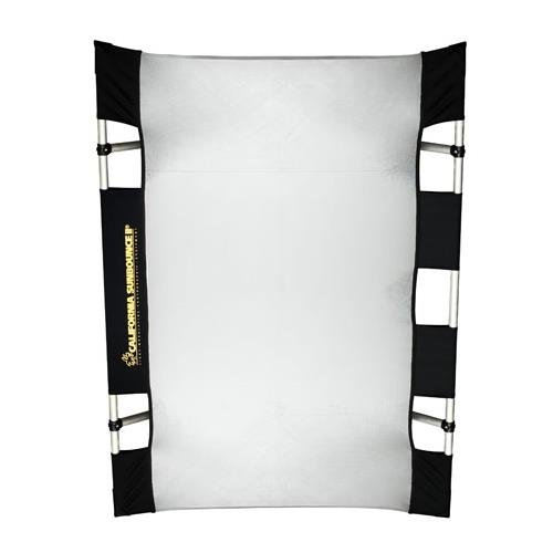California Sunbounce Mini (3 x 4 Feet) Super Saver Starter Kit- Reflector Panel Kit with Frame, Tuning Clips, Grip Head, and Carry Bag ()