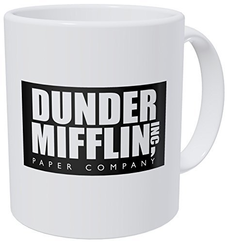 Wampumtuk Dunder Mifflin The Office 11 Ounces Funny Coffee Mug