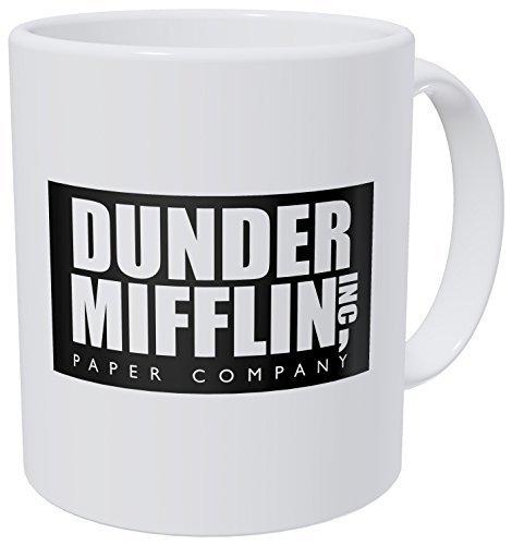 Wampumtuk Dunder Mifflin The Office 11 Ounces Funny Coffee Mug by Wampumtuk