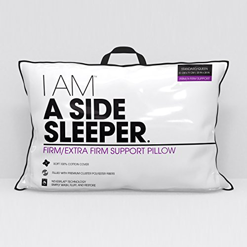 Hollander Sleep Products I AM A Side Sleeper Pillow, King, White