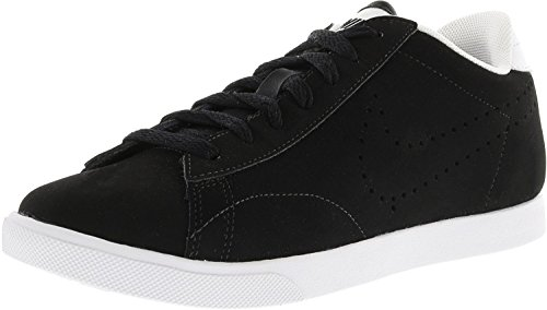 NIKE Women's Racquette Black/Black-White Ankle-High Leather Racquetball Shoe - 7M