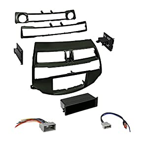 "Car Radio Stereo Install Dash Kit Harness Antenna for 2008-2012 Honda Accord With Pioneer AVH-200EX Car 6.2"" LCD USB DVD Bluetooth Stereo"