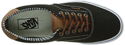 Vans Era 59, Unisex Adults Low-Top Sneakers Black (C L/Black/Str)