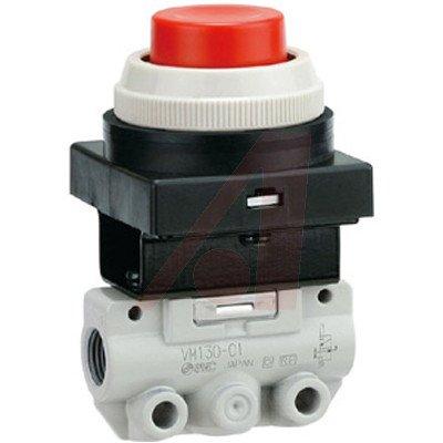 SMC VM120-N01-33A valve - vm (vfm/vzm) mechanical valve family vm body pt 1/8 - mech valve