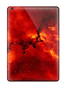 Tpu Shockproof/dirt-proof Nebula Cover Case For Ipad(air)