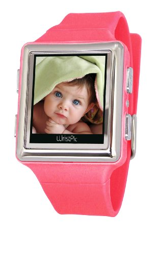 Nutec 96070-PK Wristpic Digital Photo Album Pink Watch