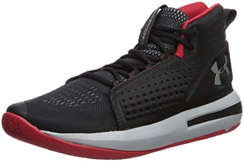 Under Armour UA Torch, Men's Basketball Shoes, Black (Black